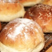 Homemade Hamburger Buns or Potato-Buttermilk Rolls