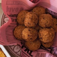 Pomegranate Fontina Rice Balls