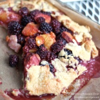 Free-form Summer Fruit Tart