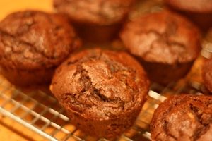 Dark Chocolate Zucchini Cupcakes (or Muffins)