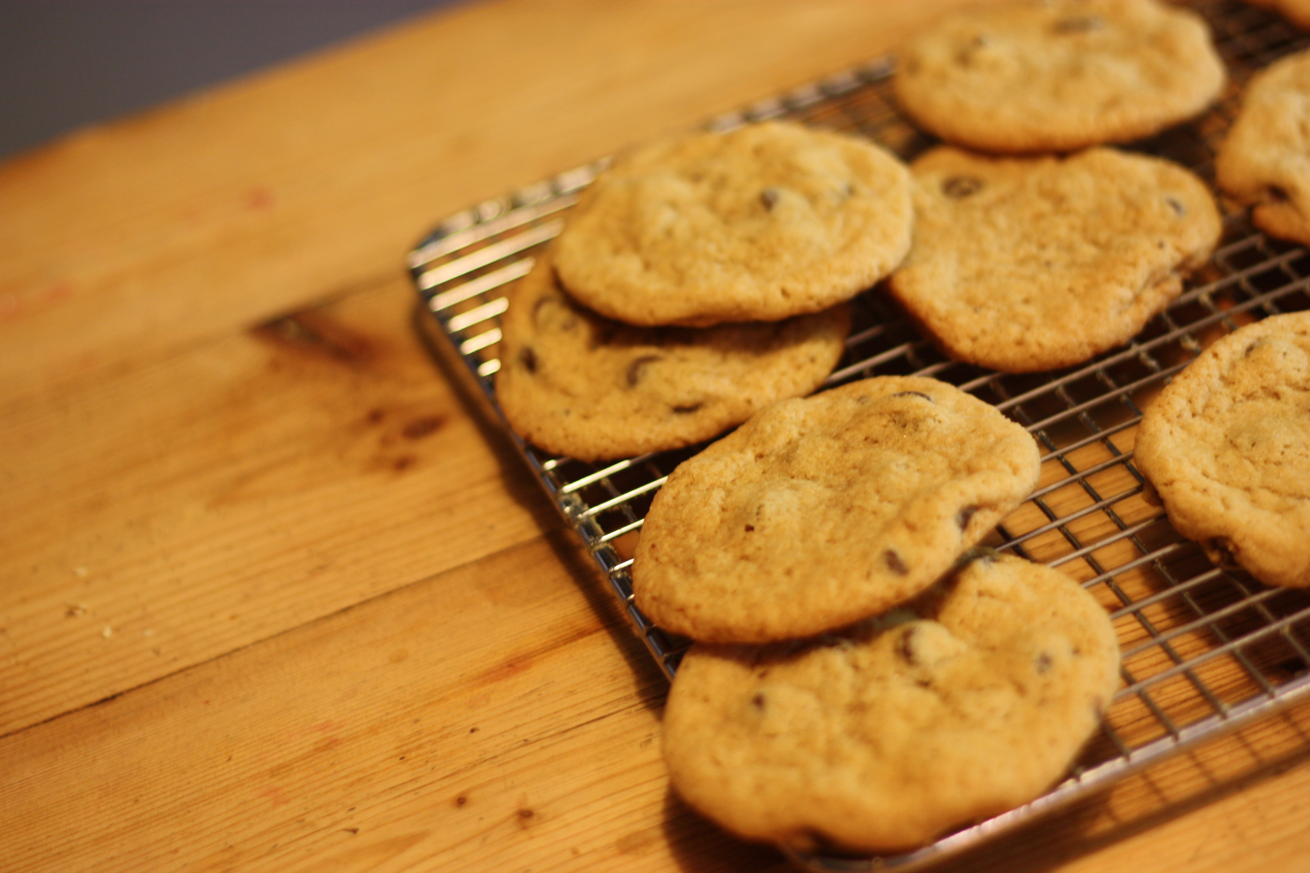 Whole Wheat Chocolate Chip Cookies | Bees Knees Recipes