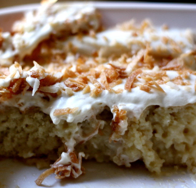 Coconut Tres Leches Cake | Bees Knees Recipes