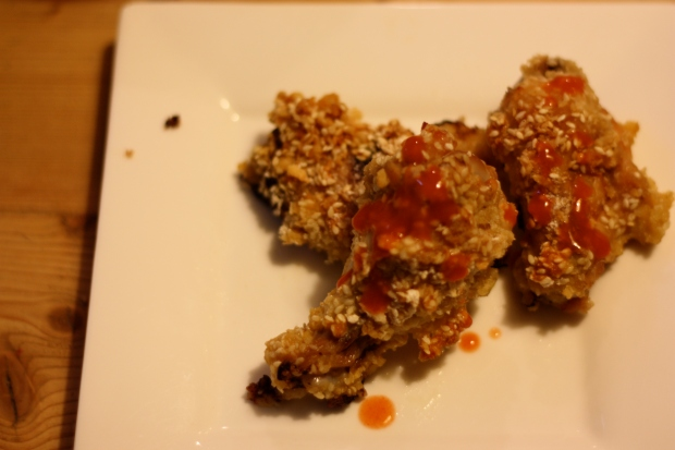 Sesame Crusted Wings