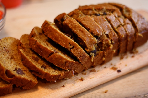 Pumpkin Bread less sugar