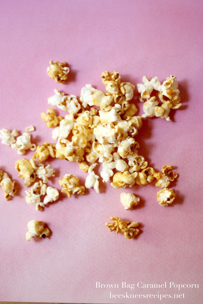 Brown Bag Caramel Popcorn