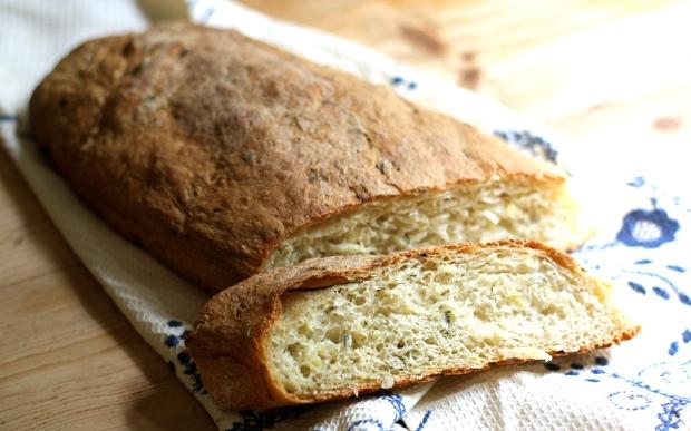 Zucchini Country Bread