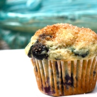 New Favorite Blueberry Muffins