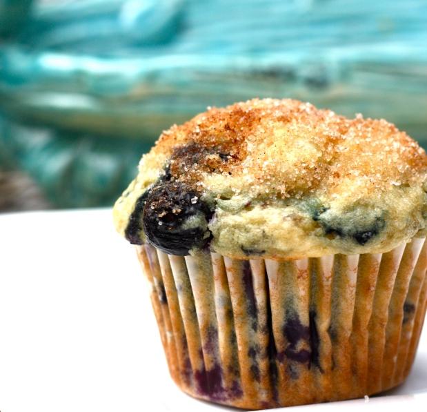 Blueberry Doughnut Muffins
