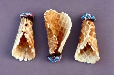 Homemade Ice Cream Cones