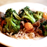 Beef & Broccoli with Oyster Sauce