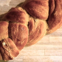 Pumpkin Ginger Braid Bread