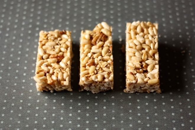 Puffed Rice Bars