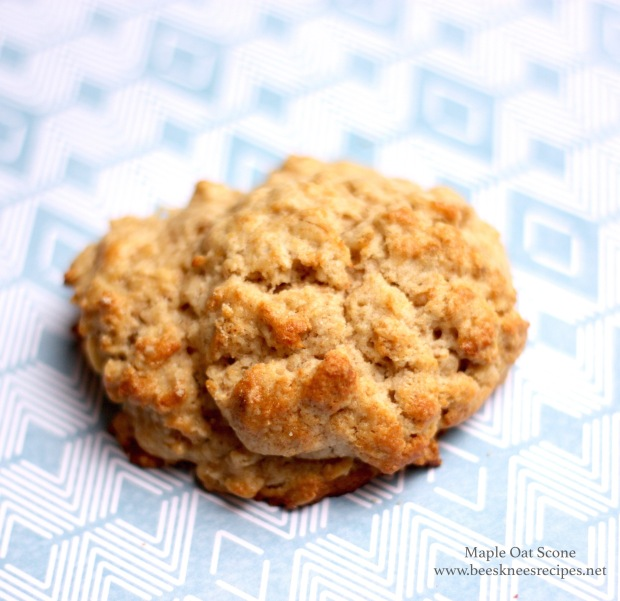 Maple Oat Scone