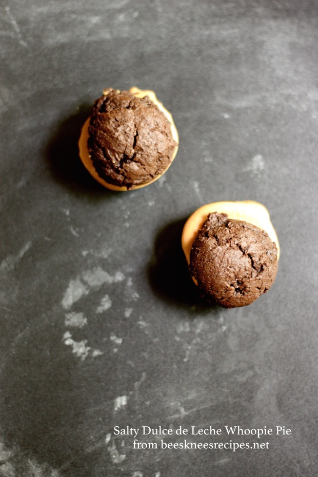 Whoopie PIe with Salted Dulce