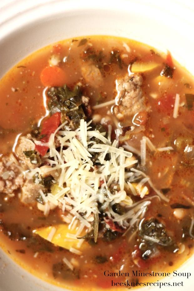 Garden Minestrone Soup