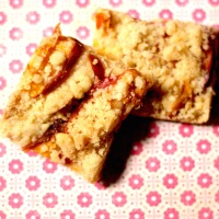 Browned Butter Peach Bars