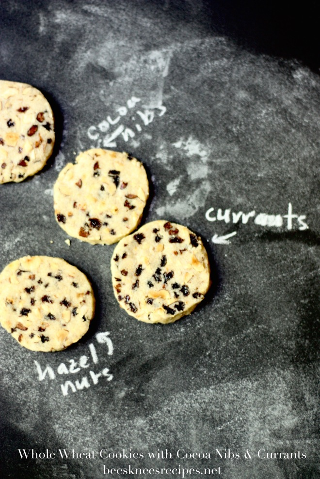 Whole Wheat Cookies with Currants