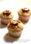 Dulce de Leche Pear Muffins