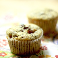 Poppyseed Plum Muffins