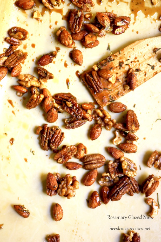 Rosemary Glazed Nuts