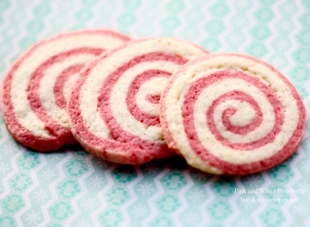 Pink and White Pinwheels