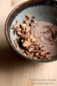 Chocolate Granola Spoon
