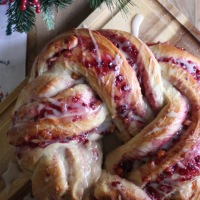 Cardamom Berry Braid